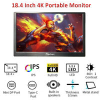 18.4 inch 4K Portable Gaming Monitor 3840×2160 for Laptop PS4 Pro Raspberry Pi