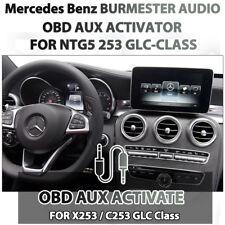 OBD AUX Activator for Mercedes Benz Burmester COMAND NTG5 GLC Class X253 C253