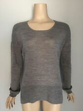 WITCHERY 100% Wool Fine Knit Jumper M