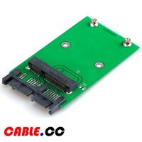 "Cablecc mSATA 50Pin to 1.8"" Micro SATA 3.3v 16pin Adapter PCBA for SSD HDD"