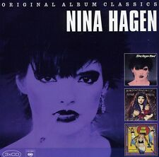 Original Album Classics - 3 DISC SET - Nina Hagen (2012, CD NEUF)