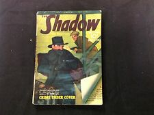 "June 1' 1941 ""The Shadow"" Pulp Magazine ""Crime under Cover"" fine crimefighter"
