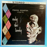 FRANK SINATRA ONLY THE LONELY LP 1958 RE '62 GREAT CONDITION VG+/VG+!!D