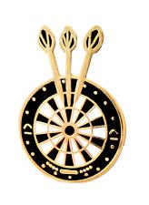 Darts & Dartboard Pin Badge