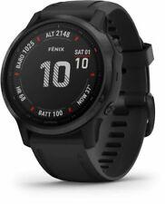 Garmin Fenix 6S Pro 42mm Silicone Black Smartwatch - (0100215914)