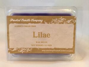 Lilac 2.5oz Soy Wax Melts Scent Fresh Floral Spring One Package