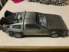New ListingSun Star Back To The Future 1.18 Scale Car Delorean