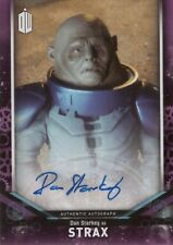 2018 Topps Doctor Who Signature Starkey as Strax Autograph