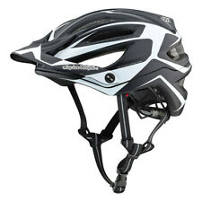 NEW 2019 TROY LEE DESIGNS A2 MIPS MTB HELMET DROPOUT BLACK/WHITE SMALL 191684051