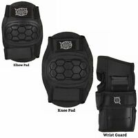 6 pc Pad Set for skateboard scooter or skate Knee Elbow Wrist Kids girls or boys