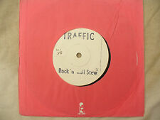 TRAFFIC ROCK N ROLL STEW pt 1 & 2 mega rare uk test press island wipx 1148 / 114