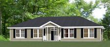 60x30 House -- 4 bedroom 3 Bath -- 1,800 sqft -- PDF Floor Plan -- Model 1