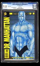 Before Watchmen: Dr Manhattan 1 CGC 9.8 Jim Lee 1:200 variant DC doctor