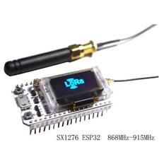 New Development board SX1276 ESP32 chip non-module OLED WIFI LoRa node,868-915