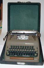 Vintage Smith Corona Silent  Typewriter  w/ Black Hard Case