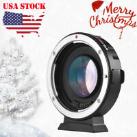#US VILTROX EF-M2II AUTO FOCUS LENS MOUNT ADAPTER 0.71X FOR CANON EOS to MFT M43