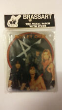 Motley Crue group Brassart metal patch with studs Vintage patch
