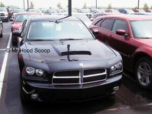 2006-2010 Hood Scoop for Dodge Charger By MrHoodScoop UNPAINTED HS009
