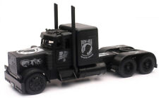 Peterbilt Black Out Pow / Mia Veterans Tribute 1:32 Model New Ray SS11643*