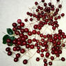 Artificial Red Holly Berries Garland Christmas Tree Decor Ornament Xmas x 100P
