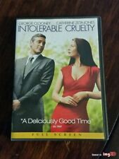 Intolerable Cruelty (DVD, 2004, Full Screen Ed) Joel Coen Film w/George Clooney