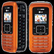 LG enV VX9900 - Orange (Verizon) Cellular Phone