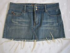 Abercrombie and Fitch Frayed Above Knee Mini Jeans Skirt - Size 6 - EUC