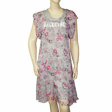 Robe soie imprimé fleurs I.CODE by IKKS femme taille 36