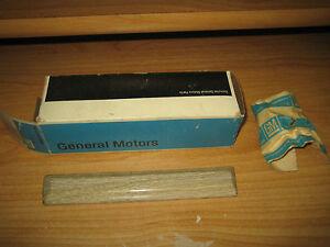 NOS GM 1971 Pontiac Catalina Safari Station Wagon Woodgrain Trim Molding