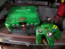 Funtastic Jungle Green Nintendo 64 N64 Console System W/ Matching Controller