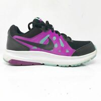 Nike Womens Dart 11 724477-007 Purple Black Running Shoes Lace Up Low Top Size 7