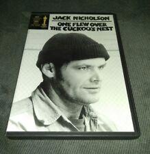One Flew Over the Cuckoo's Nest (DVD, Jack Nicholson