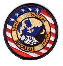 Patch Écusson NASA APOLLO I Thermocollant Apollo 1 taille: 7.5 cm