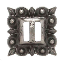 "Slotted Square Concho Antique Nickel  1-1/4"" 7485-21S"