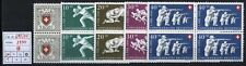 Svizzera - 1950 - Pro Patria - MNH - n. 497/501 - Quartine