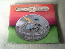 KILLING HEIDI - SUPERMAN / SUPERGIRL - 6 TRACK OZ CD SINGLE
