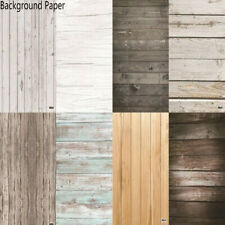 Photo Studio 58X86cm 2 Sides PVC Photography Wood Printing Backdrop Background,