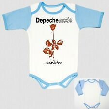 DEPECHE MODE VIOLATOR BLUE baby body infant children boy toddler newborn
