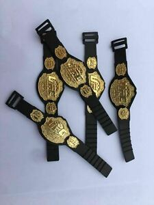10pcs UFC Championship Toy Belt For 7 inch Action Figure Gold