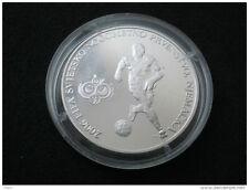 Croatia, 150 kuna, 2006 FIFA Football World Cup, Germany; silver, proof
