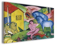 Quadro moderno Franz Marc vol X stampa su tela canvas pittori famosi