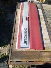 1978 1979 1980 Factory Original Chevy Truck Tailgate Tail gate with trim