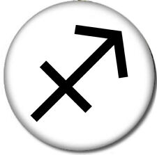 Sagittarius Pin-Back Button Astrology Sign November December Zodiac Horoscope