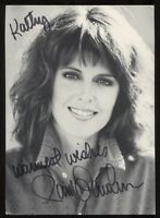 Pam Dawber Signed Photo Vintage Autographed Actor Signature Mork and Mindy