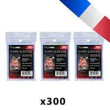 Lot de 300 pochettes Ultra Pro pour cartes Soft Card Sleeves JCC Pokemon, MTG