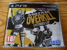 The House of the Dead Overkill PROMO – PS3 ~ NEW (Full Promotional Game)