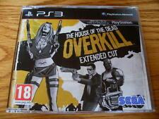 La casa de los muertos Overkill Promo – PS3 ~ NUEVO (COMPLETO juego promocional)