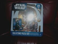 STAR WARS COLLECTORS PUZZEL SET FOIL & POSTER BRAND NEW AND SEALED