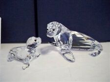 SWAROVSKI SEA LION MOTHER WITH BABY 5275796 BNIB