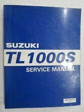 Suzuki Used TL1000S 1997-2001 Factory Shop Manuel 99500-39140-01E